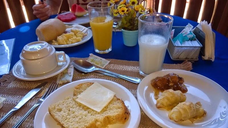 Foto do café da manhã
