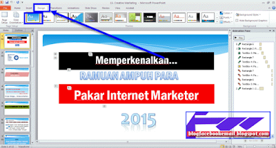 cara membuat power point 2010