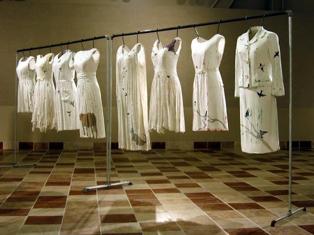 Jen Harmon Allen installation of Stories the Hummingbird Told Me