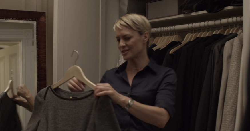 """Strict style: Robin Wright's """"House of Cards"""" wardrobe - Passage des Perles"""