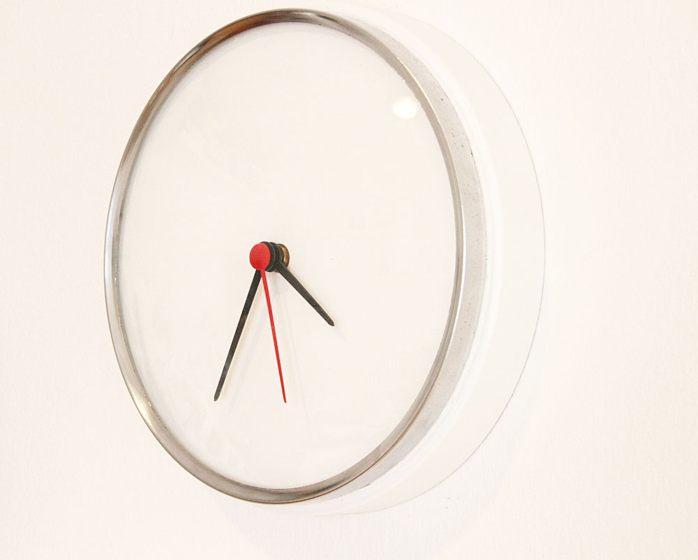 Diy reciclar un reloj de pared alquimia deco - Reloj para pared ...