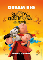 snoopy charlie brown peanuts movie poster malaysia
