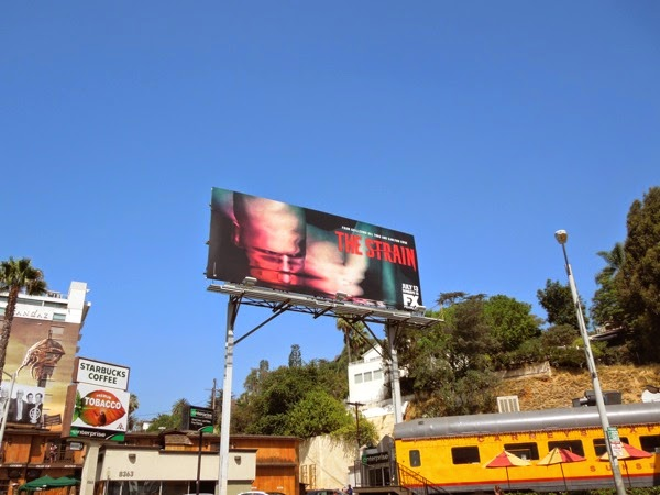The Strain version 2 launch billboard