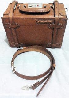 Tas kamera koper 10 inchi dengan tali