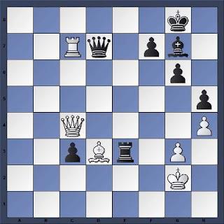 Echecs à Bienne : Position après 56.Tc7