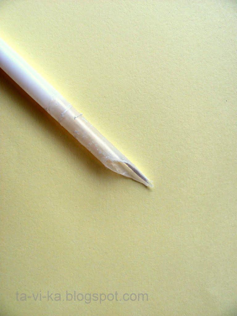 Перо для письма своими руками 336