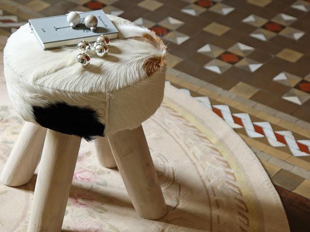 Oryginalny design taboretu