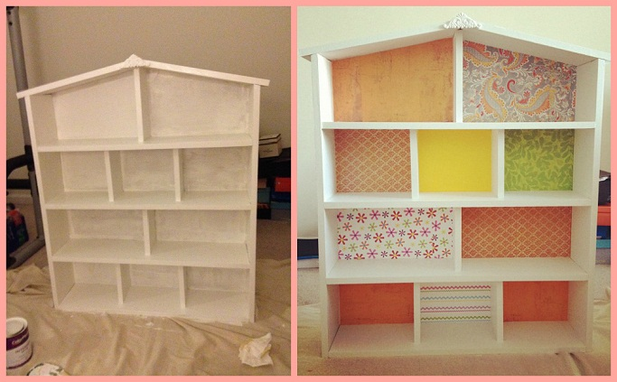 Style Delights How To Build A Dollhouse