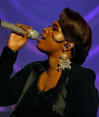 Jennifer Hudson Diamond Chandelier Earrings