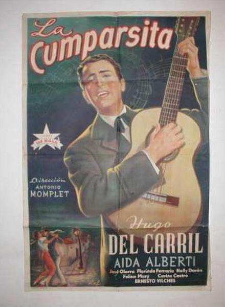 Hugo del Carril afiche La cumparsita