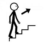 simbolo del salire