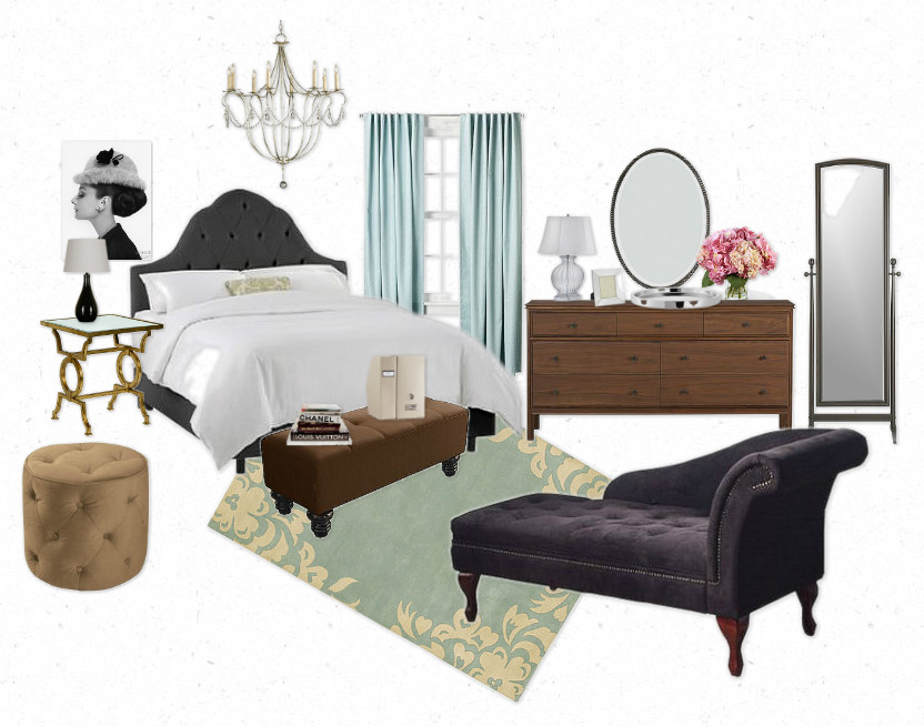 blair waldorf bedroom. Start out with a dramatic black headboard like Blair s whether it wood  or upholstered doesn t matter just make sure got feminine curves The Lovely Side Room Gossip Girl Decor