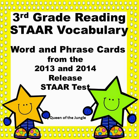 https://www.teacherspayteachers.com/Product/STAAR-Reading-Vocabulary-3rd-Grade-1213424