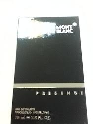 """MONT BLANC """"PRESENCE"""""""