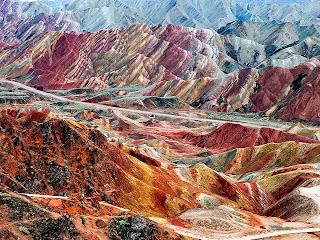 Zhangye Danxia Landform 08