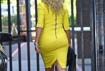 Καναρίνι… τούμπανο! Ποια γνωστή τηλεπαρουσιάστρια φόρεσε αυτό; (PHOTOS)