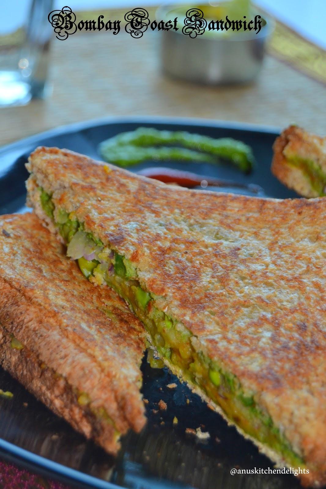 Bombay Toast Sandwich