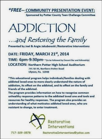 3-21 Addiction And Restoring The Family