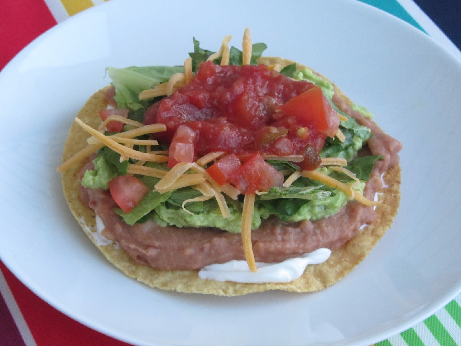 Been There Baked That: 7-Layer Tostadas