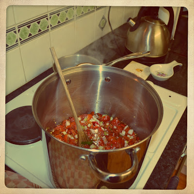 homemade tomato relish