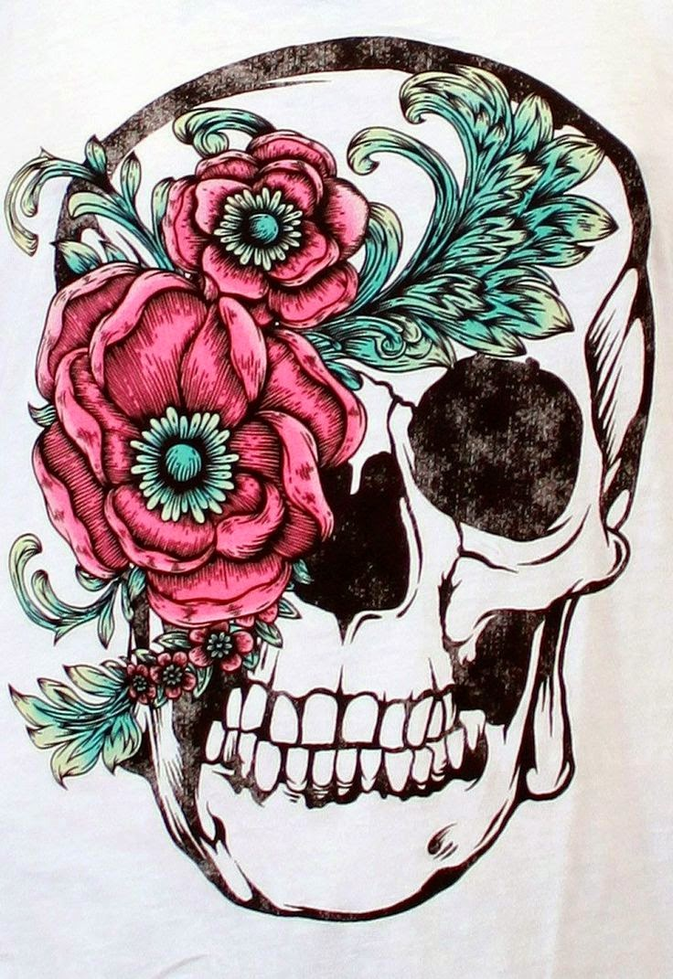 ♥ ♫ ♥ Beautiful Skull Tattoos For Women  ♥ ♫ ♥