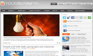 YourBusiness Blogger Template