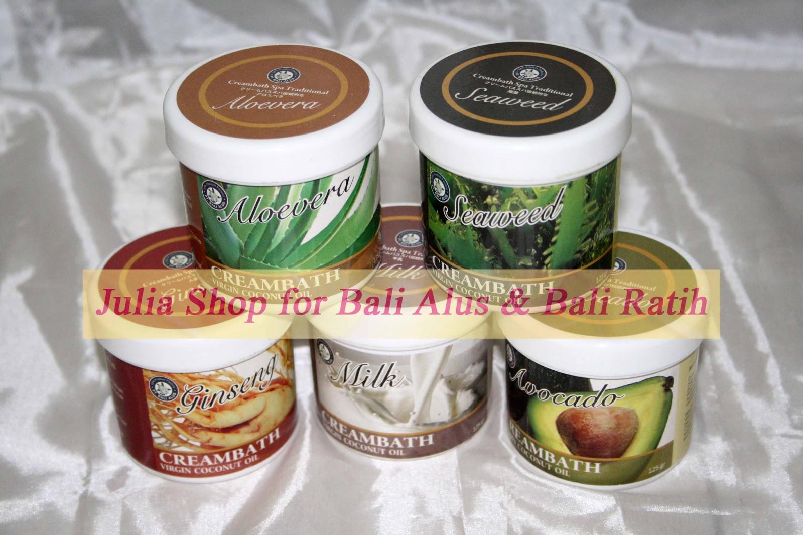 Bali Alus Creambath Spa 125gr Milk A Big Deal Bath Mandi Susu Hair