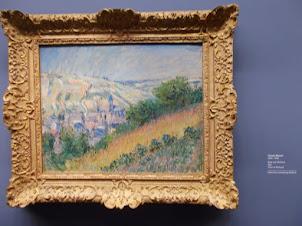 """Claude Monet painting in """"Albertini Museum"""" ."""