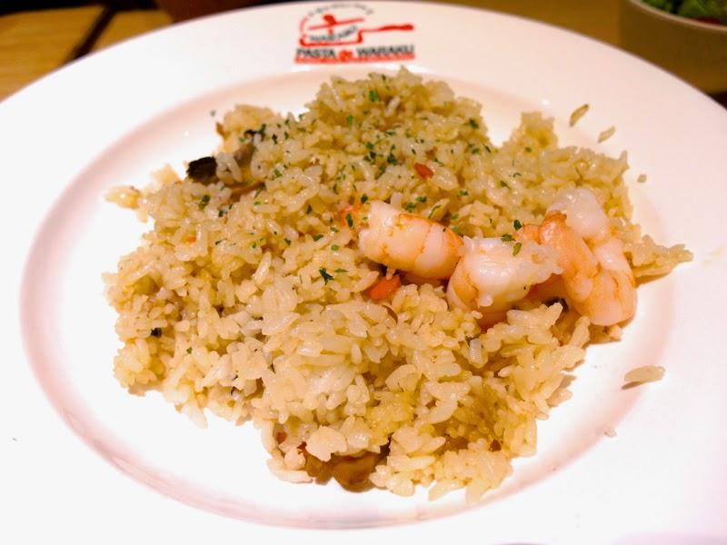 Pasta De Waraku Restaurant Changi Airport Terminal 2 Outlet Japanese Food Prawn Fried Rice Review lunarrive blog Singapore