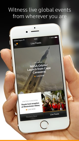 Reuters TV app released for iPhone