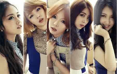 Girlband Korea Dengan Personil Tercantik