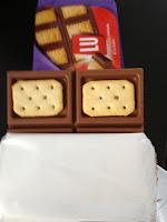 Schokolade mit Keks