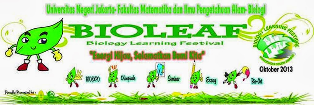 BIOLEAF (Biologi Learning Festival) 2013