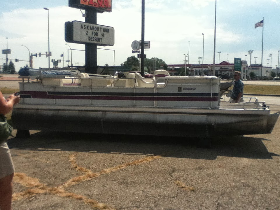 One of our 2 boats