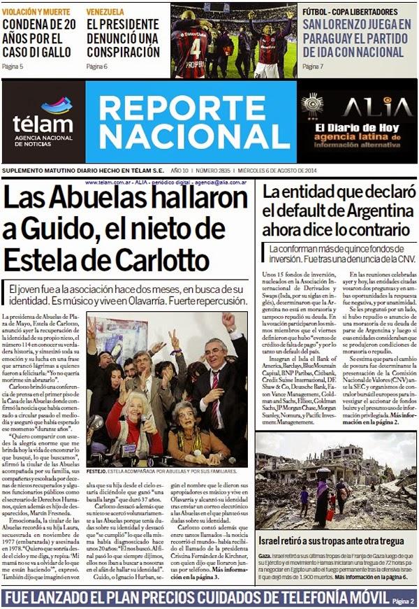 """""""El Diario de Hoy"""" 06/08"""