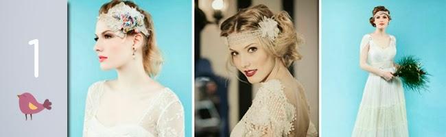 Acessórios modernos, delicados e glamurosos para noivas