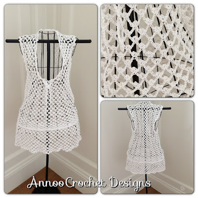 free crochet pattern beach cover up