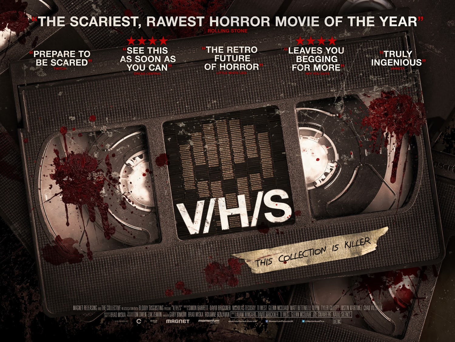 V/H/S, V/H/S 2, The Innkeepers, John Dies at the End, Big Ass Spider | DVD | La aventura audiovisual se convierte en abanderada del terror en España