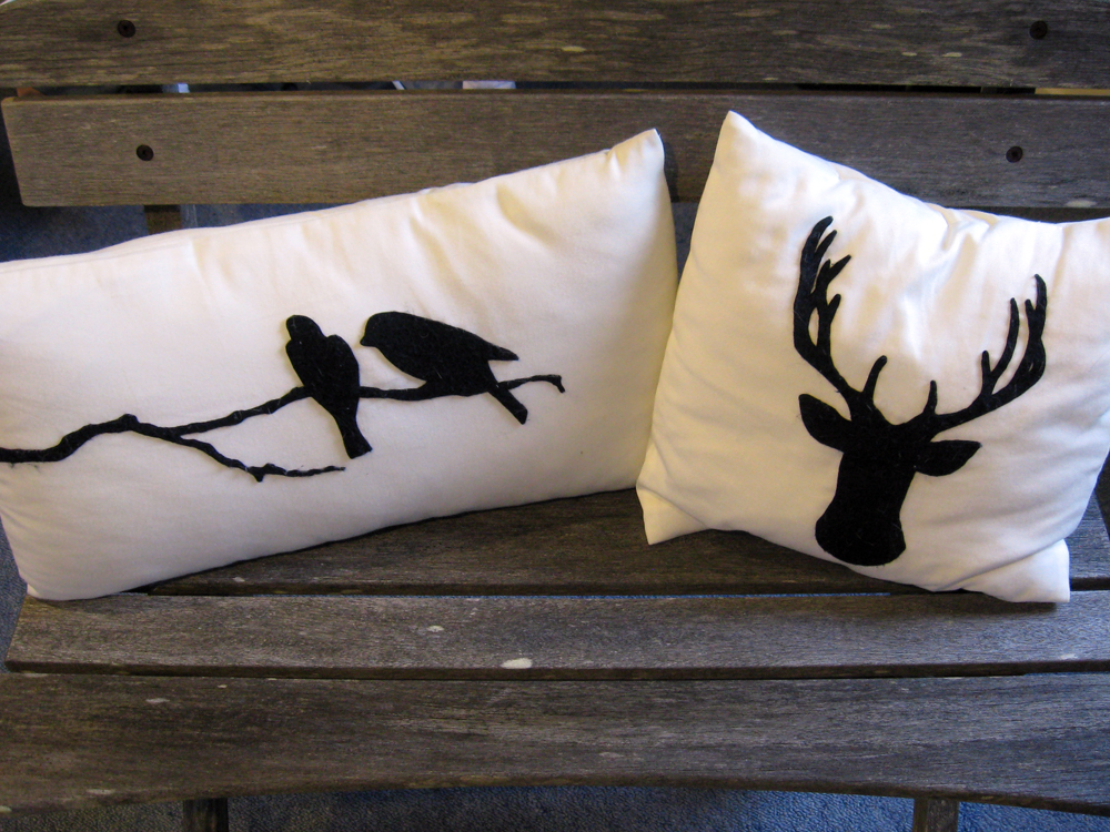 Tutorial: How to make animal silhouette cushion covers... THE FASHION WORKSHOP