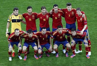 Timnas Indonesia VS Spanyol