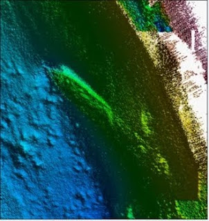 3D image of shipwreck SS Harvard