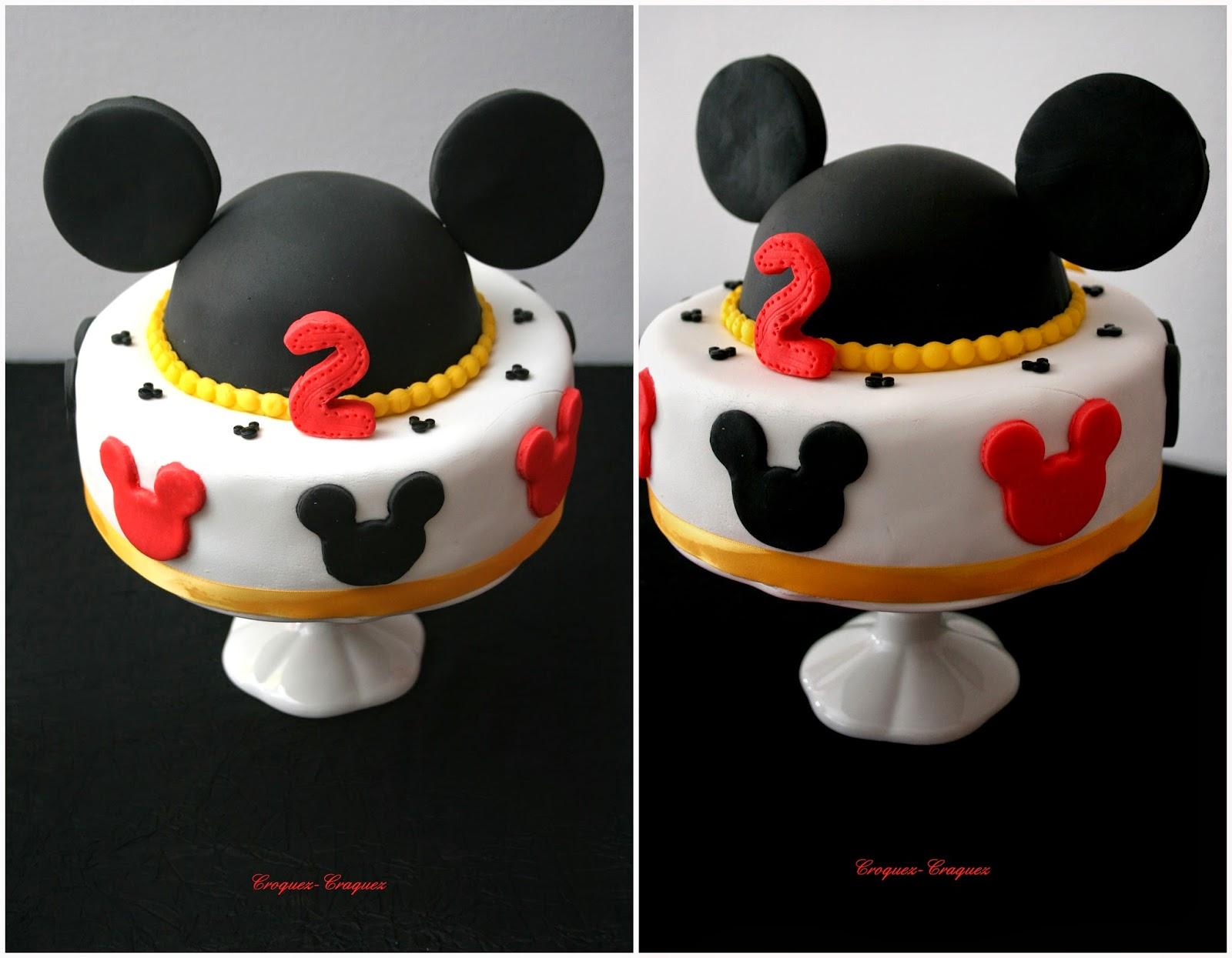 Connu Un anniversaire Mickey ! | Croquez, craquez CN67