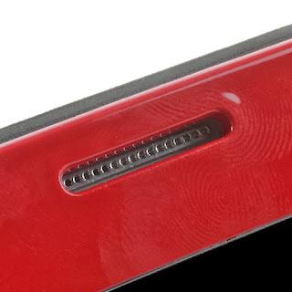 SGP Folio Cover Slim Armor S View Case for Samsung Galaxy S4 I9500 I9502 M919 - Red