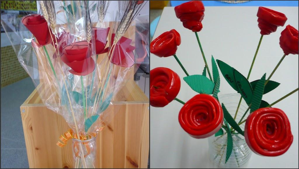 http://plasticaeducacioinfantil.blogspot.com.es/2010/04/roses-per-sant-jordi-3-4-i-5-anys.html