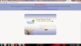 Pengertian Singkat Tentang TELKOM TRUBLE TICKET MONITORING SYSTEM (T3-ONLINE)