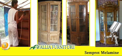Finishing Furniture Semprot Melamine