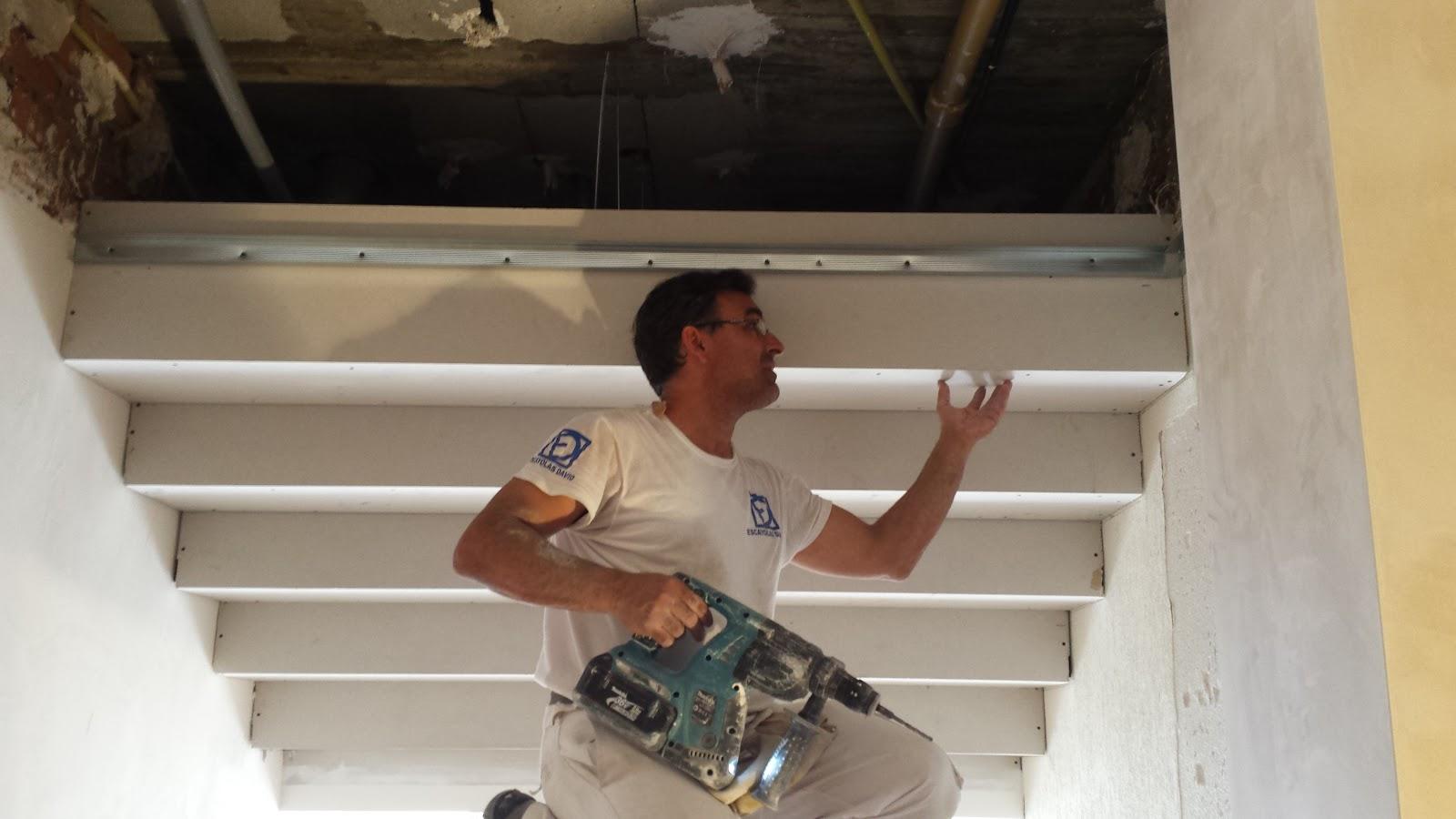 Todo pladur techos escalonados - Hacer falso techo ...