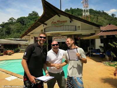 Testimonial by Andreas O from the Khao Lak April 2015 IDC