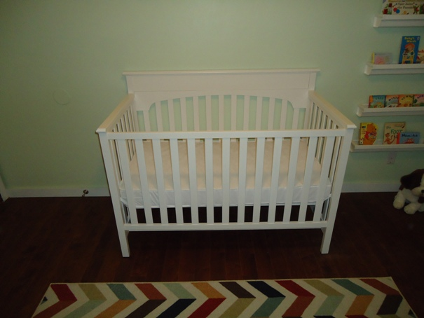 Finished crib DIY Graco Lauren Classic