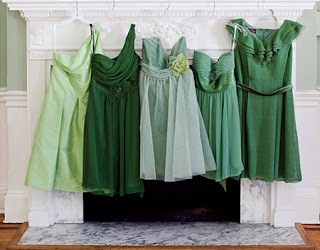 green maternity bridesmaid dresses